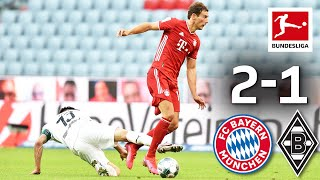 Fc Bayern München Vs. Borussia Mönchengladbach I 2 1 I Goretzka Scores Late Winning Goal