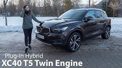 2021 Volvo XC40 Recharge T5 Test / Unsere ersten Eindrücke des Plug-in Hybrid - Autophorie