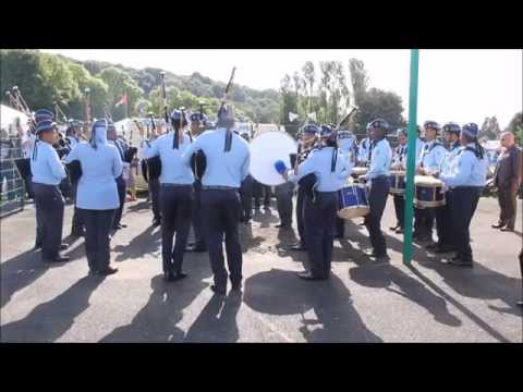 Dundonald 2014 - Royal Air Force of Oman Pipe Band