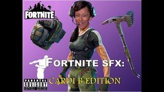 Was wäre, wenn Cardi B Soundeffekte in Fortnite wären?!?!