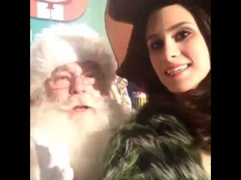 santa you know what i want for christmas vine