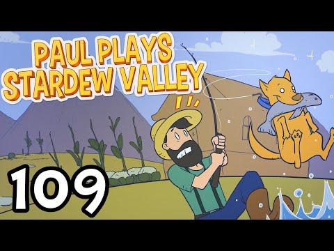 Stardew Valley - NEW! Caroline's Sun-Room and Tea Bush! - Stardew Valley Playthrough - Ep 109