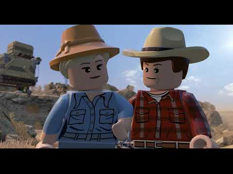 LEGO Jurassic World 2020 (часть 1) начало