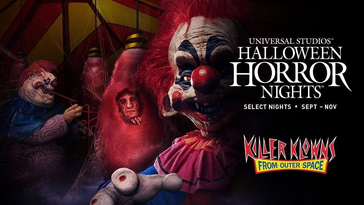 Universal Studios Halloween Horror Nights 2019.Killer Klowns From Outer Space Halloween Horror Nights 2019 Announcement
