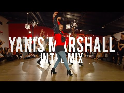 "YANIS MARSHALL HEELS CHOREOGRAPHY ""IN THE MIX"" MIX MASTERS. LOS ANGELES MILLENNIUM DANCE COMPLEX"