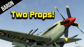 War Thunder 1.49 Two Propped Seafire!  New British Carrier Planes & Jet Bomber Cockpit!