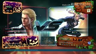 TEKKEN 7 - Majin kawes (Steve) vs Majin Fightsur (Nina) RANK MATCH