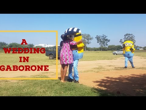 A WEDDING IN GABORONE - BOTSWANA TRAVEL || SOUTH AFRICAN YOUTUBER