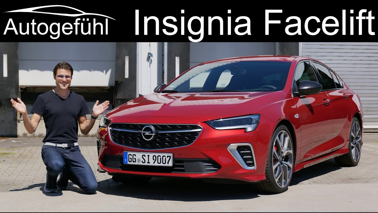 opel insignia facelift full review 2021 vauxhall insignia
