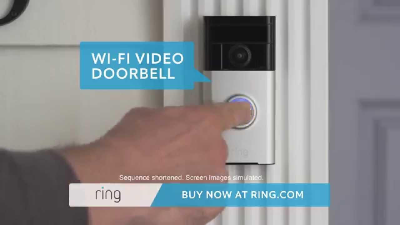 & Ring video doorbell commercial - YouTube