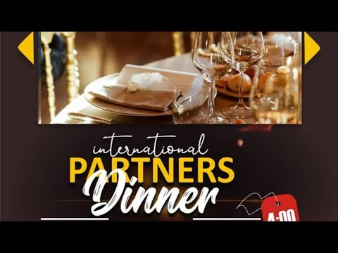 SPECIAL INTERNATIONAL PARTNER'S DINNER WITH PROPHET SANMI METIBOBA