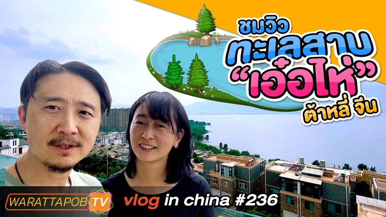 เที่ยวจีน - ชมวิวทะเลสาบเอ๋อไห่ เมืองต้าหลี่ | VLOG IN CHINA EP237