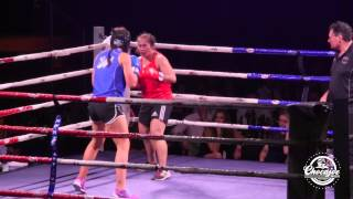 NZ Black Fern Captains First Boxing Fight for NZ Police Charity Event
