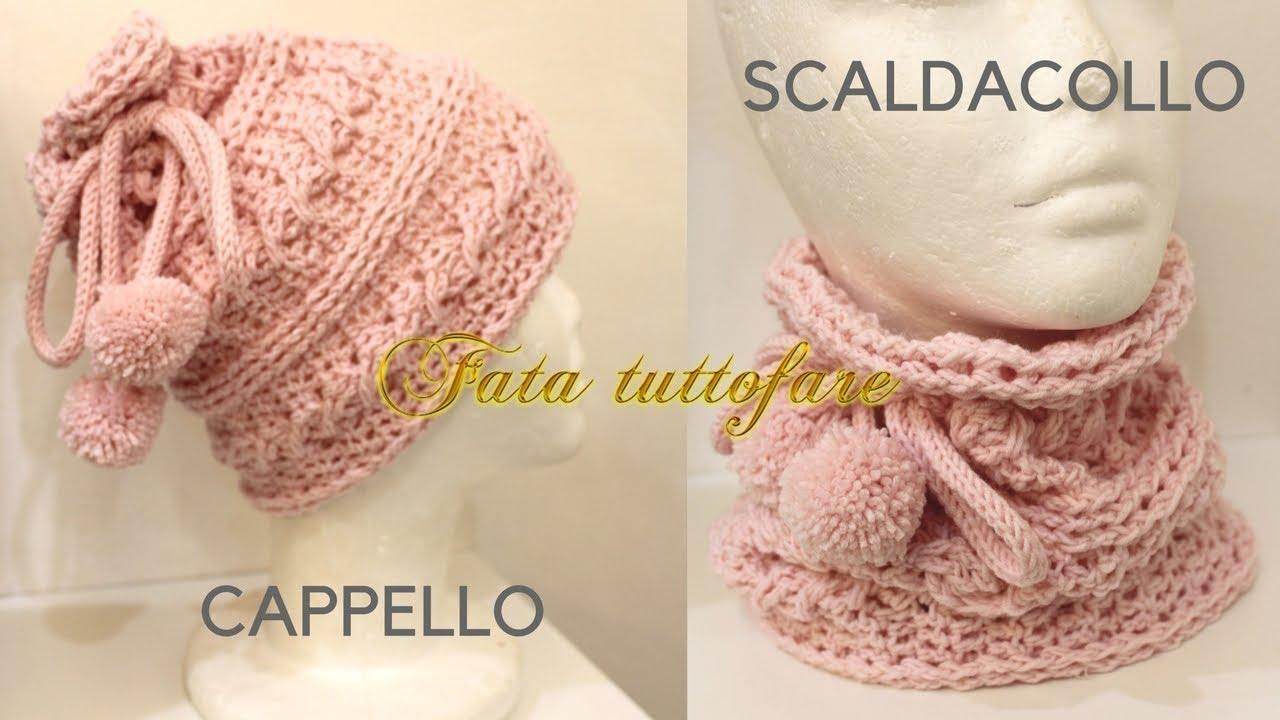 molto carino 39a4a c602d TUTORIA: cappello e/o scaldacollo***lafatatuttofare***