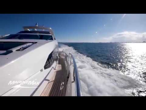 2018 Azimut Grande 30 Metri For Sale at MarineMax Pompano Yacht Center