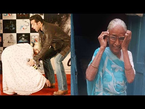 दाई मां के पैर छूने पर एेसा था Salman Khan का रिएक्शन, 5 साल पहले किया वादा भूले