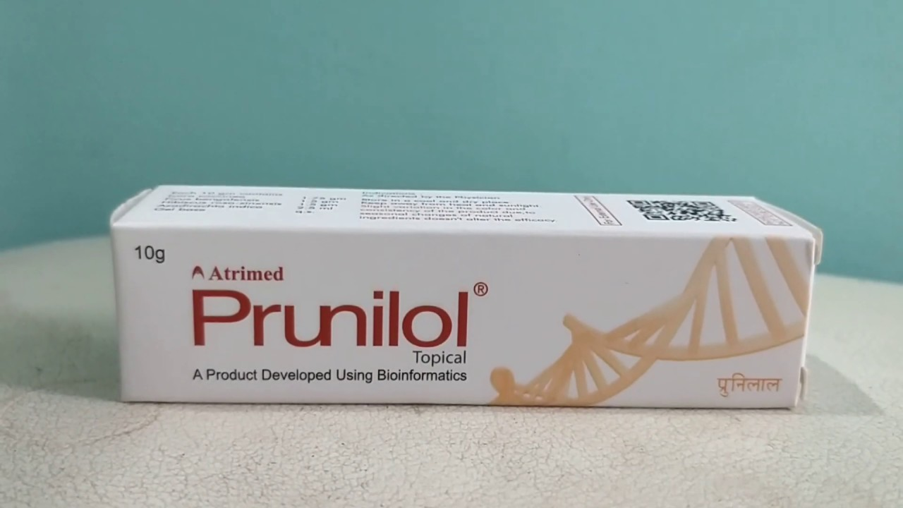 Hindi: Prunilol topical cream eczema skin problems herbal medicine #Herbalmedicine