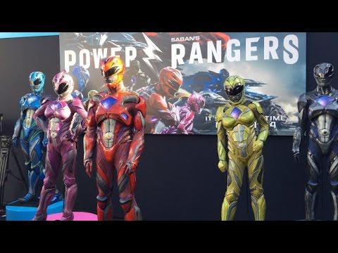 Power Ranger 2017 Movie Premiere