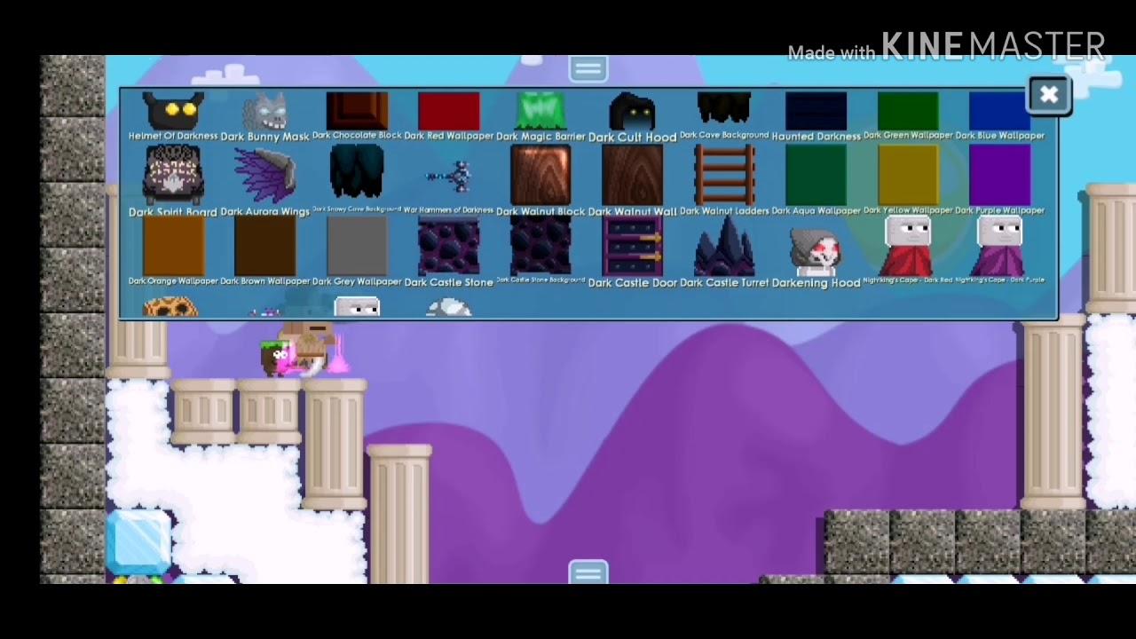 Growtopia Building Mini World Design Youtube