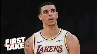 Lonzo Ball faces the most pressure without LeBron - Ryan Hollins | First Take