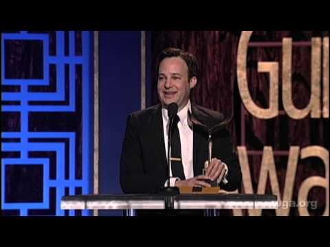 Danny Strong wins the 2013 Writers Guild Award Long Form Adapted for Game Change