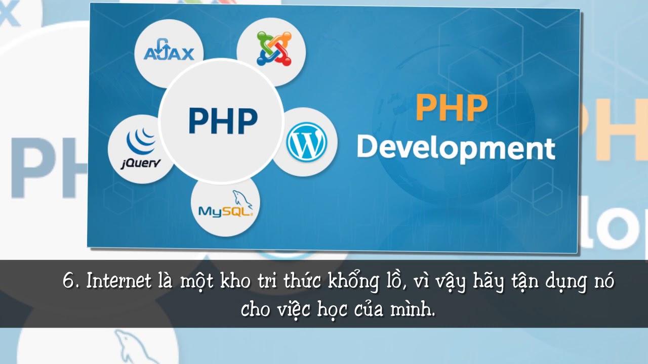 Kinh nghiệm học lập trình PHP dành cho những người mới bắt đầu