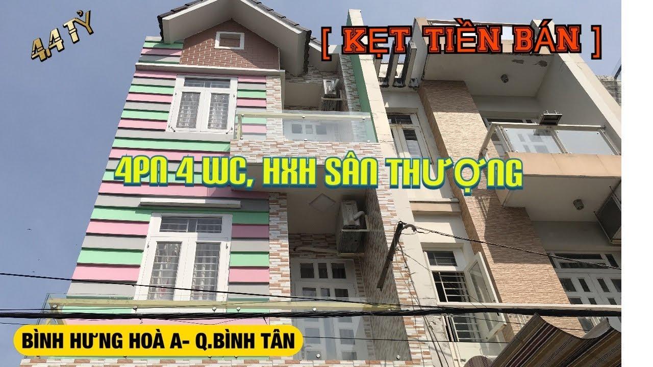 Bán nhà quận Bình Tân 4x14m Bình Hưng Hoà A 4.4 tỷ