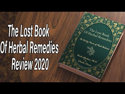 The Lost Book Of Herbal Remedies - Review 2020