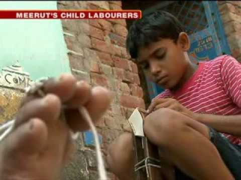 Exclusive: Child labours used in football manufacturing