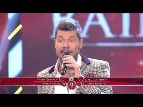 Showmatch 2014 - Aníbal Pachano bailó un tema de Madonna y tuvo un cruce con Nacha Guevara