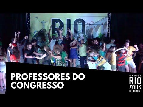 VIII RIO ZOUK CONGRESS - Professores do Rio Zouk Congress