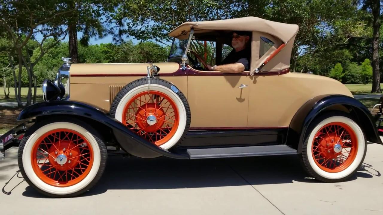 1929 Chevrolet Roadster retro video - YouTube
