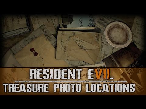 Resident Evil 7 Biohazard  All Treasure Photo Locations Guide