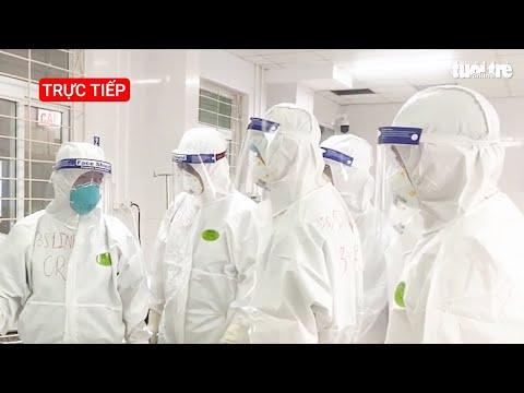 Những hình ảnh trong khu điều trị bệnh nhân COVID-19 tại tâm dịch Bắc Giang   Kênh thông tin Bộ Y tế