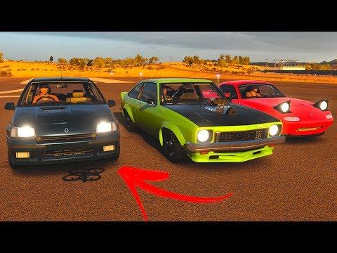 Forza Horizon 3 - Ninguém acreditou no Renault Clio e quebraram a cara!