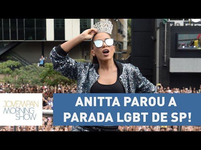 Anitta parou a Parada LGBT de SP! Saiba tudo o que rolou com Paula Carvalho