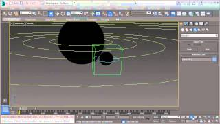 Solar System: 3dsMax Technical Video Summary