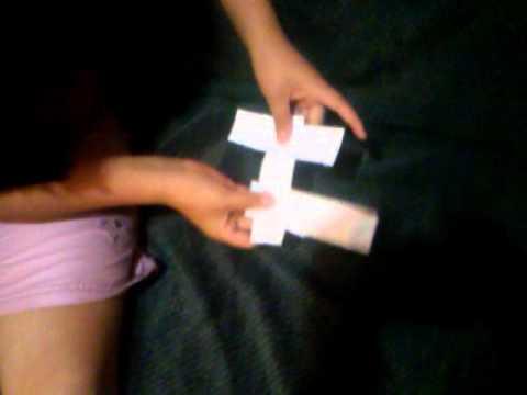 Como hcer un rehilete de papel