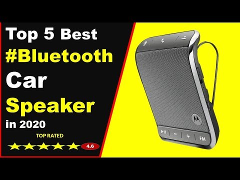 Top 5 Best Bluetooth Car Speakers in 2020 (Buying Guide)
