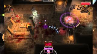 Gauntlet (2014) Necromancer Gameplay