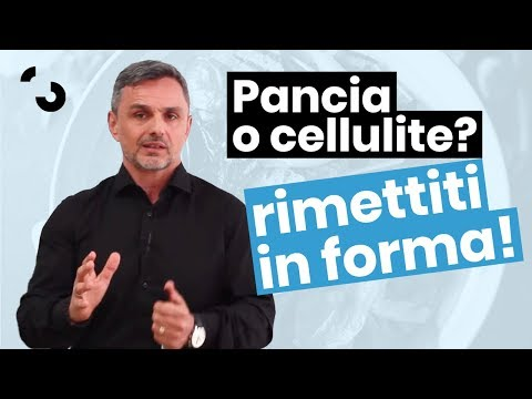 Pancia o Cellulite? Come rimettersi in forma davvero | Filippo Ongaro