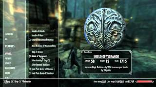 Skyrim-COMPANIONS SPOILERS-How to get Wuuthrad and the Shield of Ysgramor