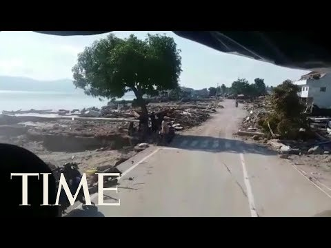 Video Shows Liquefaction In Palu, Indonesia, After Earthquake And Tsunami | TIME