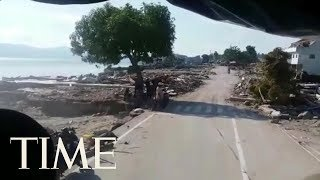 Video Video Shows Liquefaction In Palu, Indonesia, After Earthquake And Tsunami | TIME download MP3, 3GP, MP4, WEBM, AVI, FLV November 2018
