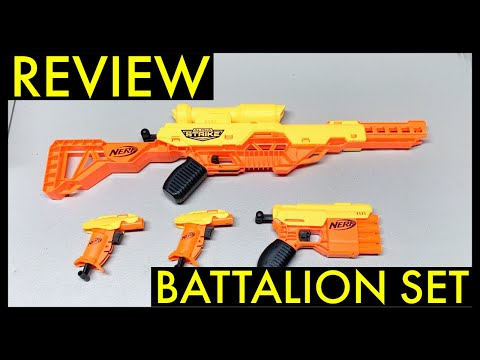 Nerf Alpha Strike Wolf - Battalion Set Review