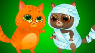 Котенку Максу нужна помощь от кошечки мисс Кати КОТИК БУБУ #57 добрый котик #ПУРУМЧАТА