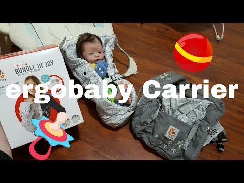 Box Opening Of Ergobaby Baby Carrier. Reborn Baby Dolls! Nlovewithreborns2011!