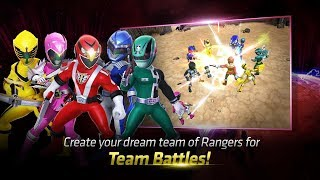 Power Rangers : RPG & iPhone/iPad & Android GamePlay
