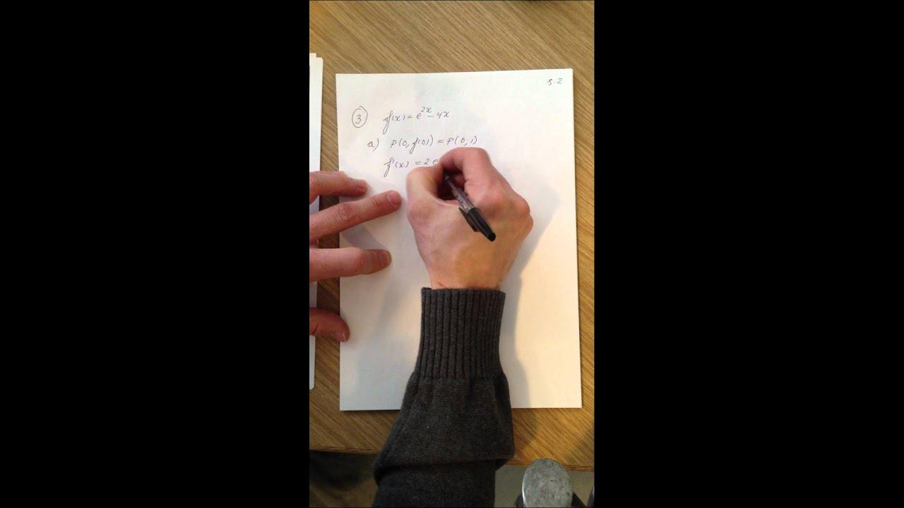 Mat B eksamenssæt december 2011 del 3