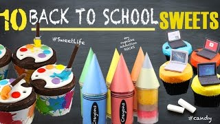10 BACK TO SCHOOL Cakes, Treats, Snacks & Sweets to Pimp your Lunch Box